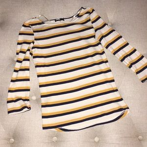 BDG Striped 3/4 sleeve shirt from Urban Outfitters